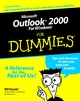 Microsoft Outlook 2000 for Windows For Dummies (0764504711) cover image