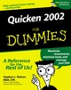 Quicken 2002 For Dummies (0764508911) cover image
