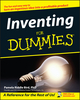 Inventing For Dummies (0764542311) cover image