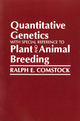 Quantitative Genetics with Special Reference to Plant and Animal Breeding (0813820111) cover image
