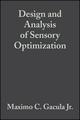 Design and Analysis of Sensory Optimization (0917678311) cover image
