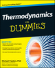 Thermodynamics For Dummies (1118002911) cover image