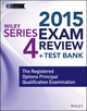Wiley Series 4 Exam Review 2015 + Test Bank: The Registered Options Principal Qualification Examination (1118857011) cover image