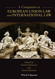 A Companion to European Union Law and International Law (1119037611) cover image