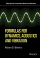Formulas for Dynamics, Acoustics and Vibration (1119038111) cover image