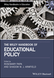 The Wiley Handbook of Educational Foundations (1119218411) cover image