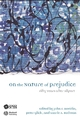 On The Nature of Prejudice: Fifty Years After Allport (1405127511) cover image