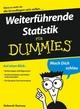 Weiterführende Statistik für Dummies (3527642811) cover image