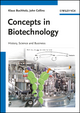 Concepts in Biotechnology: History, Science and Business (3527691111) cover image