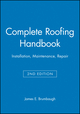 Complete Roofing Handbook: Installation, Maintenance, Repair, 2nd Edition (0025178512) cover image