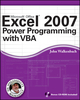 Excel 2007 Power Programming with VBA (0470044012) cover image