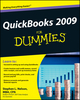 QuickBooks 2009 For Dummies (0470391812) cover image