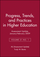 Assessment Update: Progress, Trends, and Practices in Higher Education, Volume 21, Number 1, 2009 (0470501812) cover image