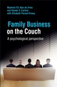 Family Business on the Couch: A Psychological Perspective (0470516712) cover image