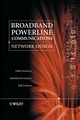 Broadband Powerline Communications: Network Design (0470857412) cover image