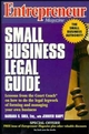 Entrepreneur Magazine: Small Business Legal Guide (0471119512) cover image