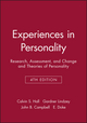 Experiences in Personality: Research, Assessment, and Change and Theories of Personality, 4th Edition (0471245712) cover image