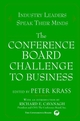 The Conference Board Challenge to Business: Industry Leaders Speak Their Minds (0471384712) cover image