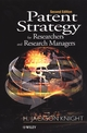 Patent Strategy for Researchers and Research Managers, 2nd Edition (0471492612) cover image