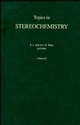 Topics in Stereochemistry, Volume 20 (0471508012) cover image