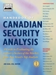 Handbook of Canadian Security Analysis, A Guide to Evaluating the Industry Sectors of the Market, from Bay Street's Top Analysts, Volume 1 (0471641812) cover image