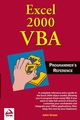 Excel 2000 VBA: Programmers Reference (0764544012) cover image