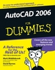 AutoCAD 2006 For Dummies (0764599712) cover image
