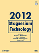 Magnesium Technology 2012 (1118291212) cover image