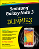 Samsung Galaxy Note 3 For Dummies (1118920112) cover image