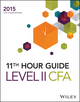 Wiley 11th Hour Guide for 2015 Level II CFA Exam: Vitalsource Edition (1119032512) cover image