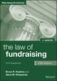The Law of Fundraising, Fifth Edition 2016 Supplement (1119238412) cover image