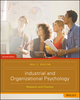 Industrial and Organizational Psychology: Research and Practice, 7th Edition (1119299012) cover image