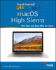 Teach Yourself VISUALLY macOS High Sierra (1119463912) cover image
