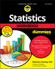 Statistics Workbook For Dummies with Online Practice, 2nd Edition (1119547512) cover image