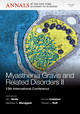 Myasthenia Gravis and Related Disorders II: 12th International Conference, Volume 1275 (1573319112) cover image