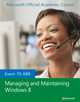 70-688 Managing and Maintaining Windows 8 (EHEP002612) cover image