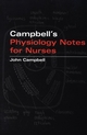 Campbell's Physiology Notes For Nurses (0470032413) cover image