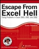Escape From Excel Hell: Fixing Problems in Excel 2003, 2002 and 2000 (0470043113) cover image