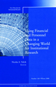 Using Financial and Personnel Data in a Changing World for Institutional Research: New Directions for Institutional Research, Number 140 (0470468513) cover image