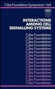 Interactions Among Cell Signalling Systems, No. 164 (0470514213) cover image