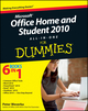 Office Home and Student 2010 All-in-One For Dummies (0470879513) cover image