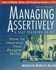 Managing Assertively: How to Improve Your People Skills: A Self-Teaching Guide, 2nd Edition (0471039713) cover image