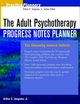 The Adult Psychotherapy Progress Notes Planner (0471045713) cover image