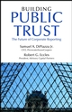Building Public Trust: The Future of Corporate Reporting (0471261513) cover image