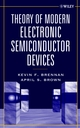 Theory of Modern Electronic Semiconductor Devices (0471415413) cover image
