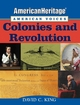 AmericanHeritage, American Voices: Colonies and Revolution (0471443913) cover image