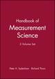 Handbook of Measurement Science, 3 Volume Set