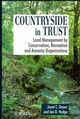 Countryside in Trust: Land Management by Conservation, Recreation and Amenity Organisations (0471948713) cover image