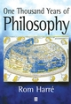 One Thousand Years of Philosophy (0631219013) cover image