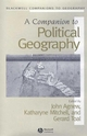 A Companion to Political Geography (0631220313) cover image